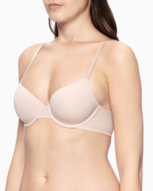 CALVIN KLEIN BREATHABLE FULL COVERAGE LIGHTLY LINED BRA