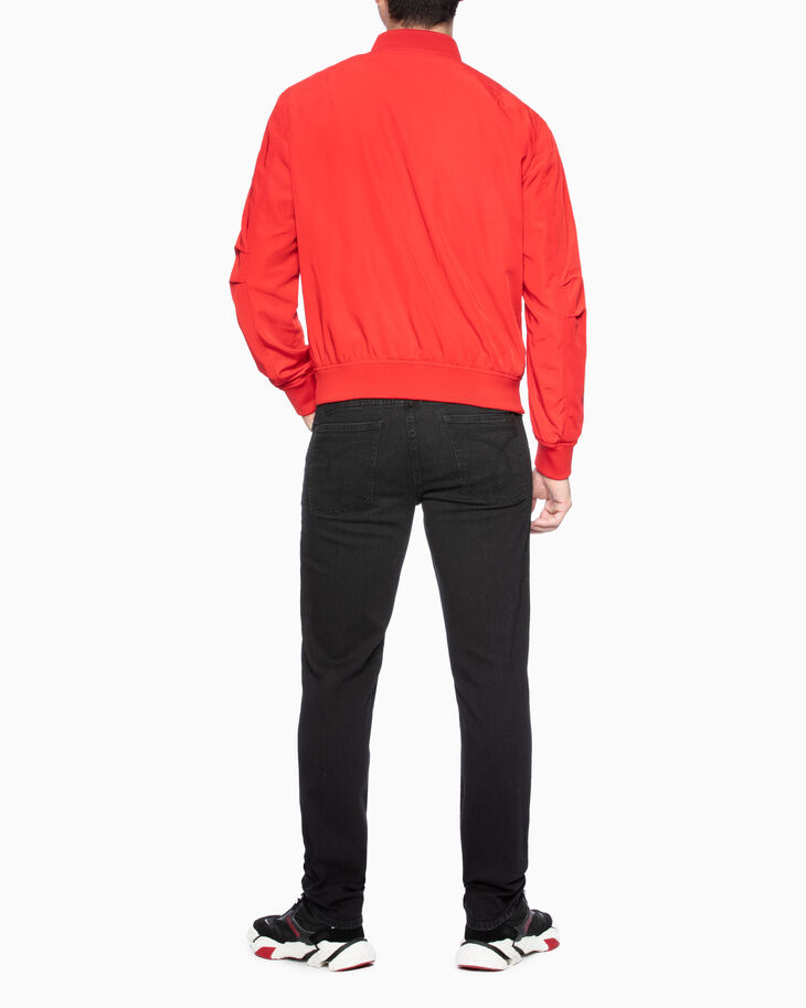 CALVIN KLEIN COLOR BLOCK BOMBER JACKET