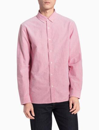 CALVIN KLEIN WILBENS レギュラーフィットシャツ
