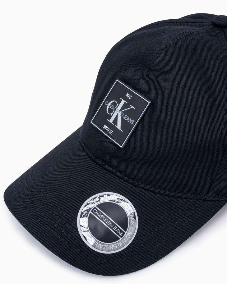 CALVIN KLEIN CKJ CLASSIC MONOGRAM PATCH CAP