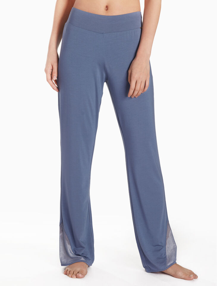 CALVIN KLEIN KNIT LACE PANTS