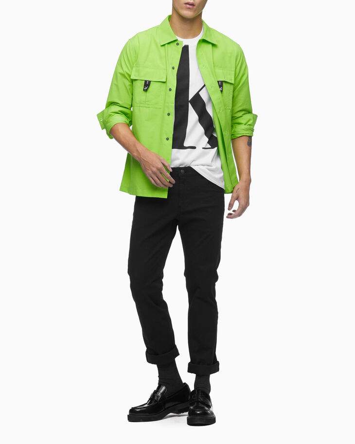 CALVIN KLEIN CK ONE UTILITY SHIRT JACKET