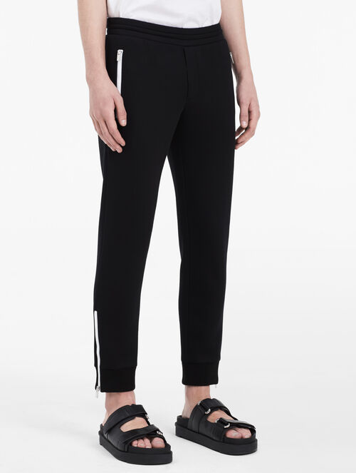 CALVIN KLEIN DOUBLE FACE SIDE ZIP PANTS