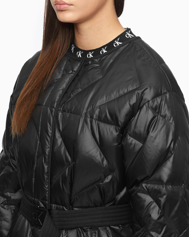 CALVIN KLEIN LIGHTWEIGHT HOODED DOWN JACKET