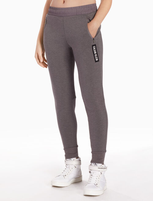 CALVIN KLEIN DOUBLE FACE SWEAT PANTS