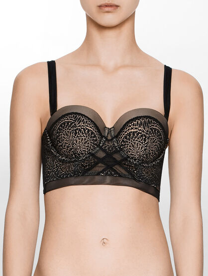 CALVIN KLEIN CK BLACK ENDLESS LIFT BRA