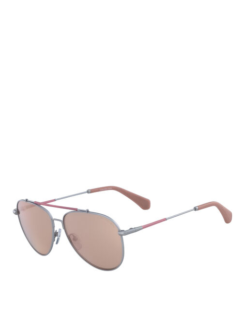 CALVIN KLEIN TINTED AVIATOR SUNGLASSES