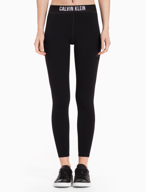 CALVIN KLEIN Ankle Length Logo Band Leggings