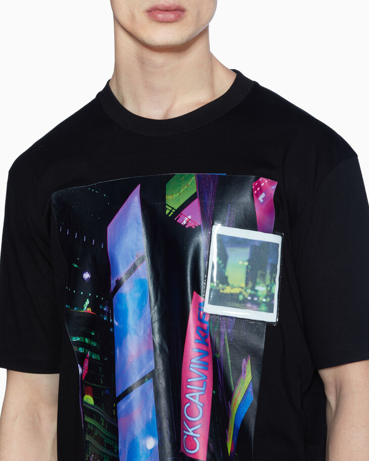 CALVIN KLEIN DIGITAL PRINT PIMA COTTON TEE