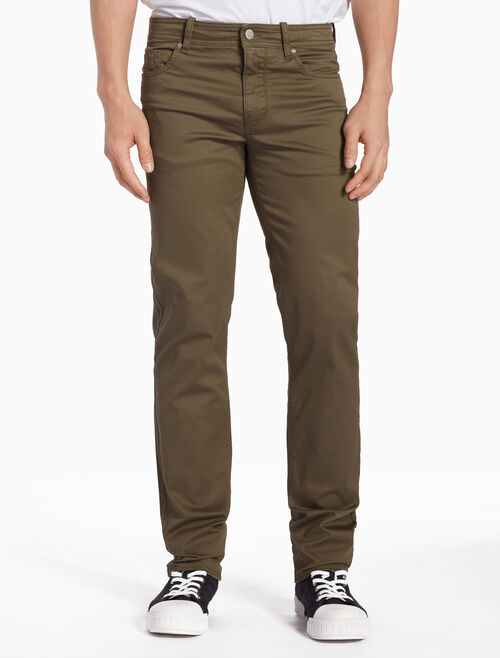 CALVIN KLEIN 5-POCKET TWILL PANTS