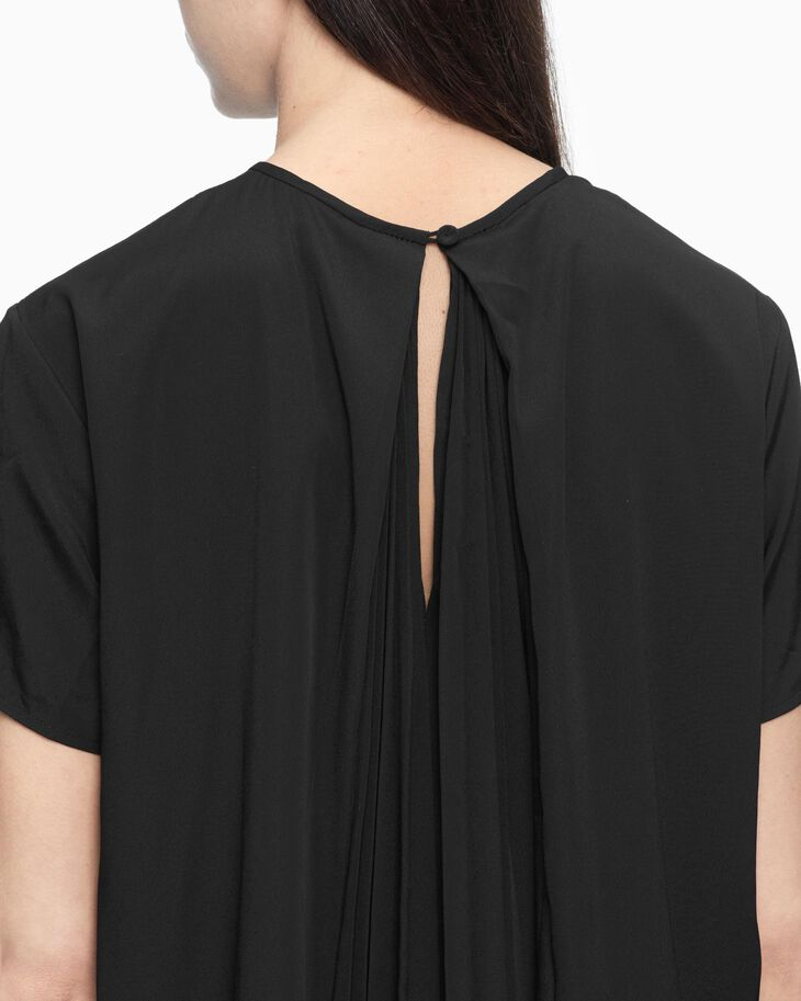 CALVIN KLEIN BACK PLEAT TOP