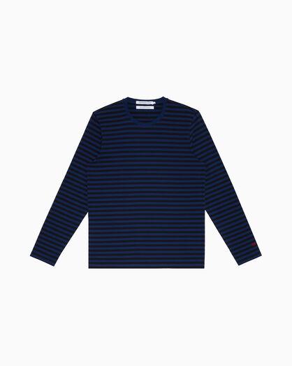 CALVIN KLEIN 스트라이프 크루넥 티셔츠