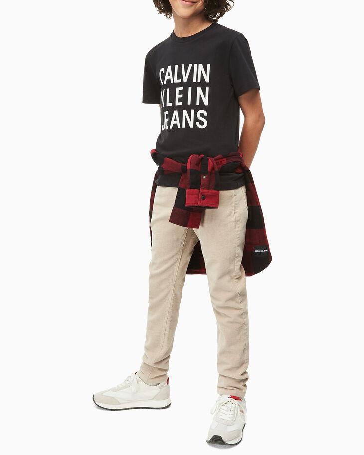 CALVIN KLEIN BOYS CKJ LOGO 上衣