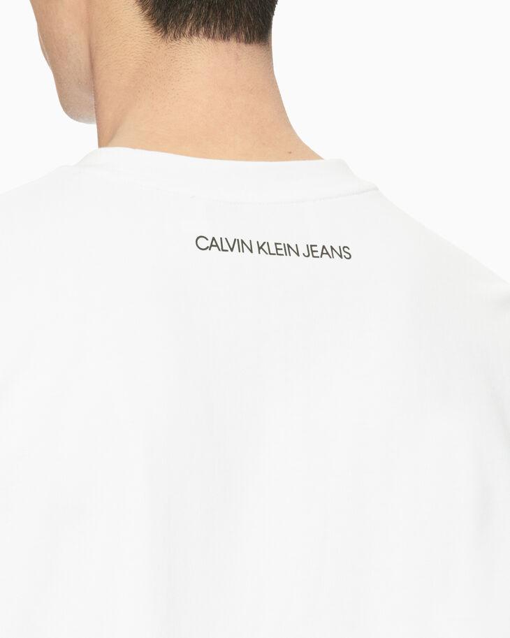 CALVIN KLEIN TONAL PALM PRINT TEE