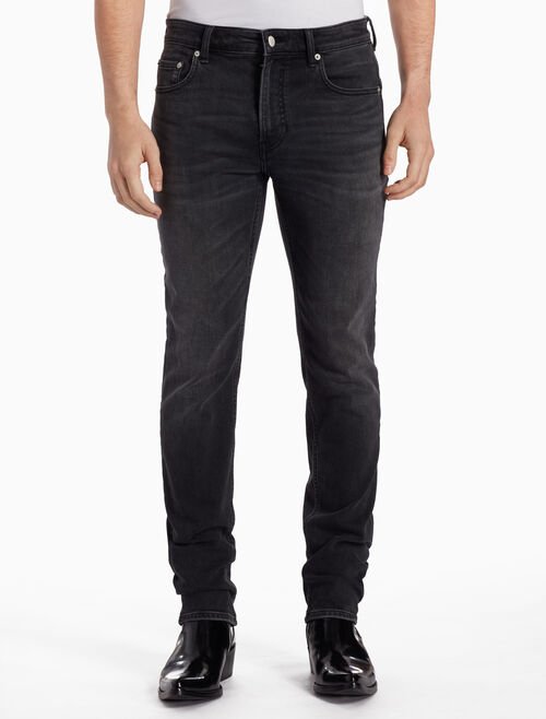 CALVIN KLEIN CKJ 027 MEN BODY BLACK SLIM JEANS