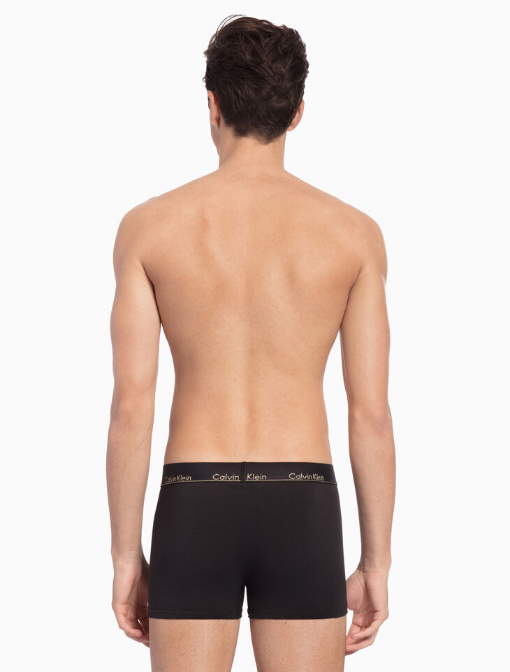 CALVIN KLEIN HOLIDAY MODERN COTTON STRETCH TRUNK