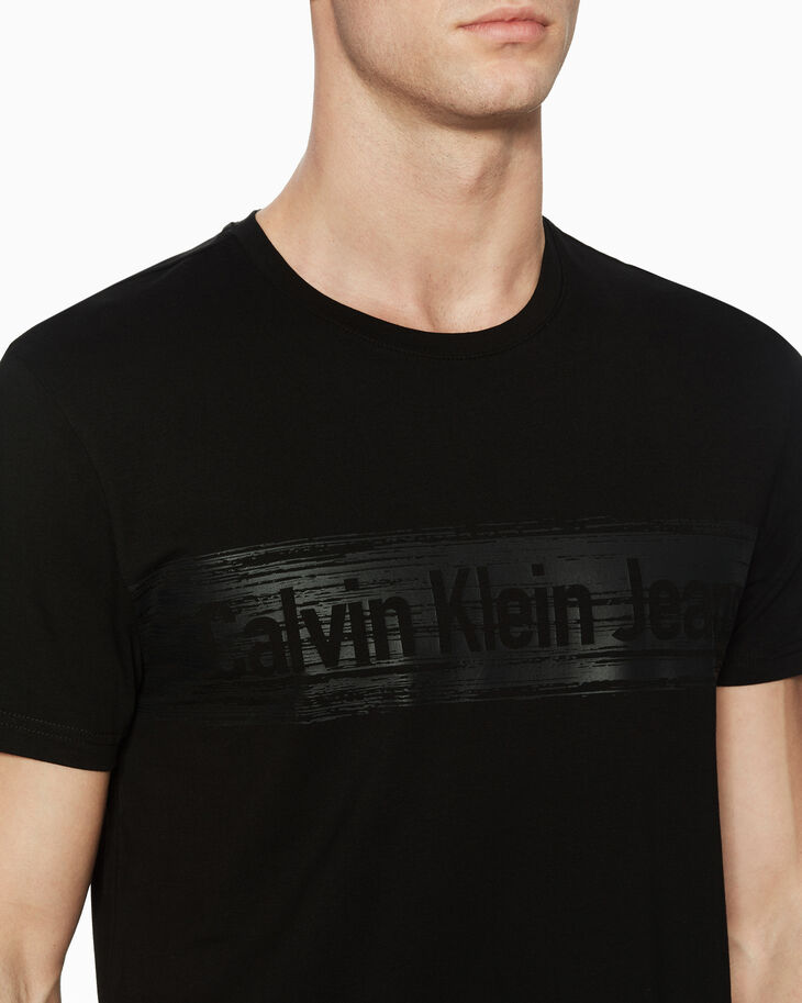 CALVIN KLEIN INSTITUTIONAL LOGO GRAPHIC TEE