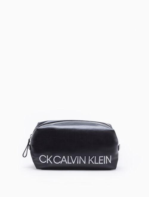 CALVIN KLEIN LOGO 大型收納包