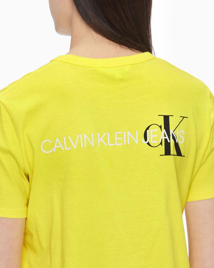 CALVIN KLEIN モノグラムロゴ T シャツ