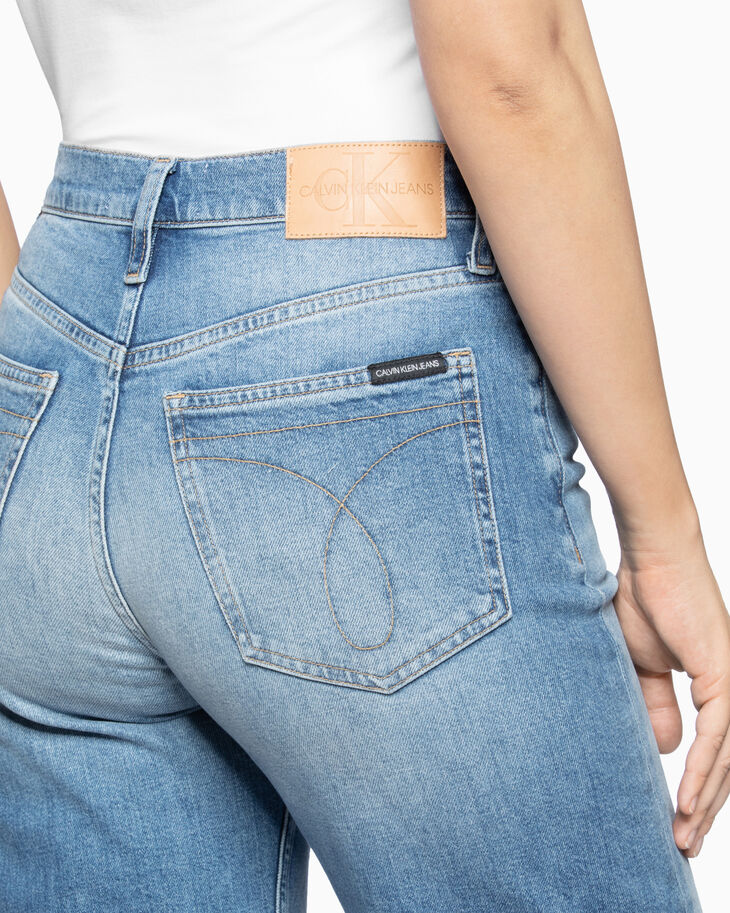 CALVIN KLEIN HIGH RISE WIDE JEANS