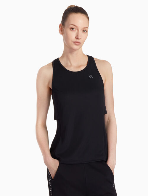 CALVIN KLEIN TWO-LAYER RACERBACK TANK TOP