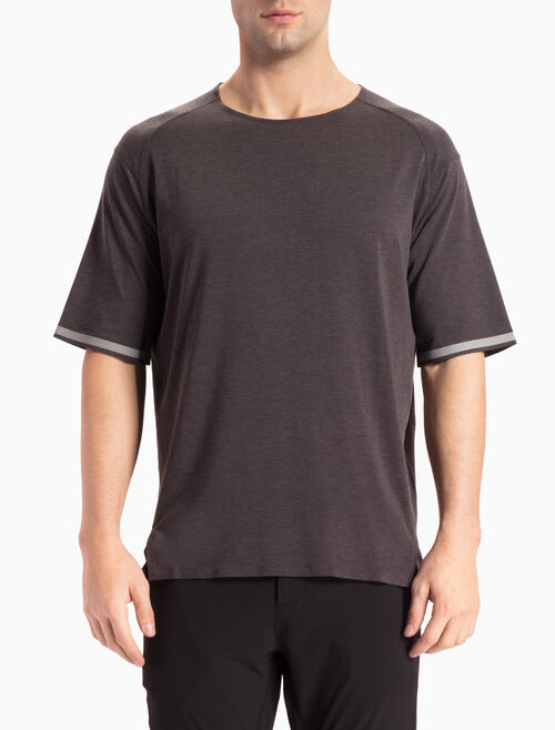 CALVIN KLEIN LOOSE FIT TEE WITH MID-LENGTH SLEEVES