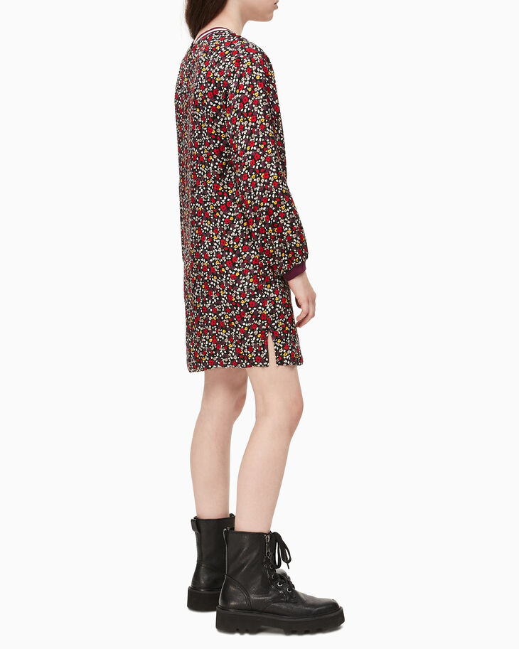 CALVIN KLEIN GIRLS VARSITY FLOWER DRESS