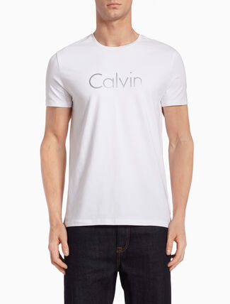 CALVIN KLEIN METALLIC CALVIN TEE