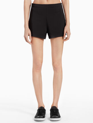 CALVIN KLEIN KNIT SHORTS WITH SIDE PANELS