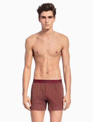 CALVIN KLEIN KNIT 合身版型四角褲