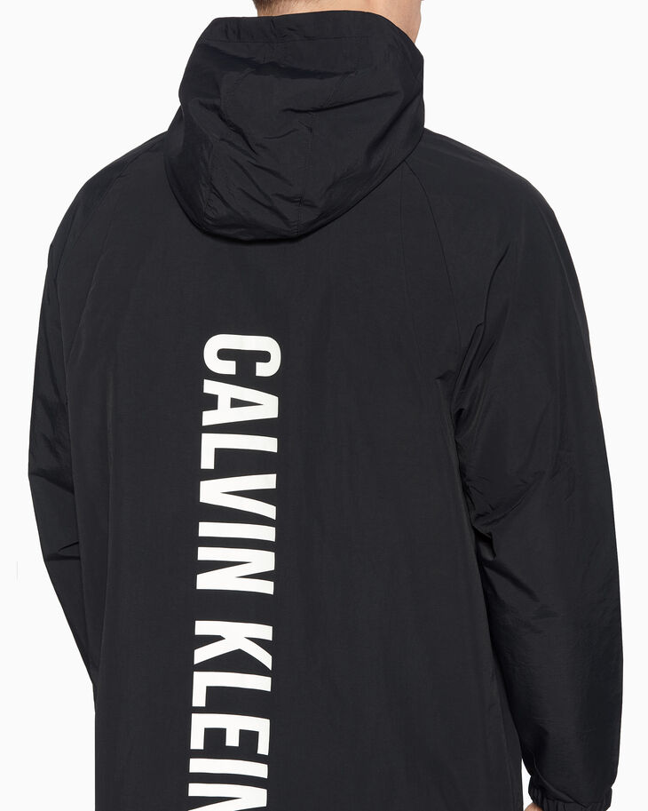 CALVIN KLEIN REVERSIBLE LONG PARKA JACKET