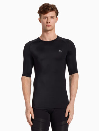 CALVIN KLEIN COMPRESSION SHORT SLEEVE TEE