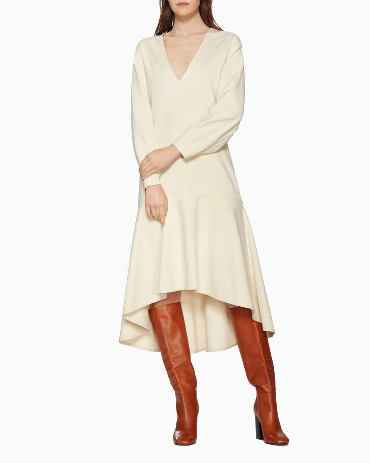 CALVIN KLEIN 라이트웨이트 플레어 드레스