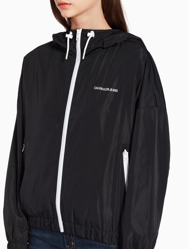 CALVIN KLEIN NYLON WINDBREAKER JACKET