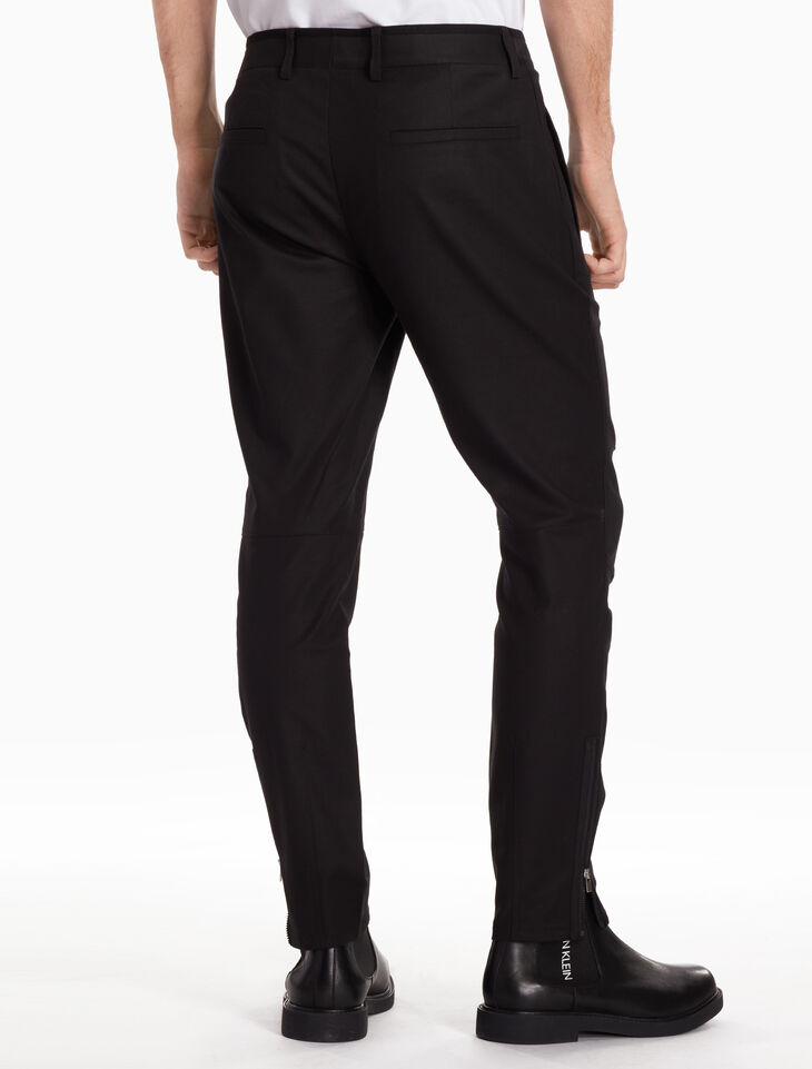 CALVIN KLEIN PERFECT COTTON STRETCH BIKER PANTS