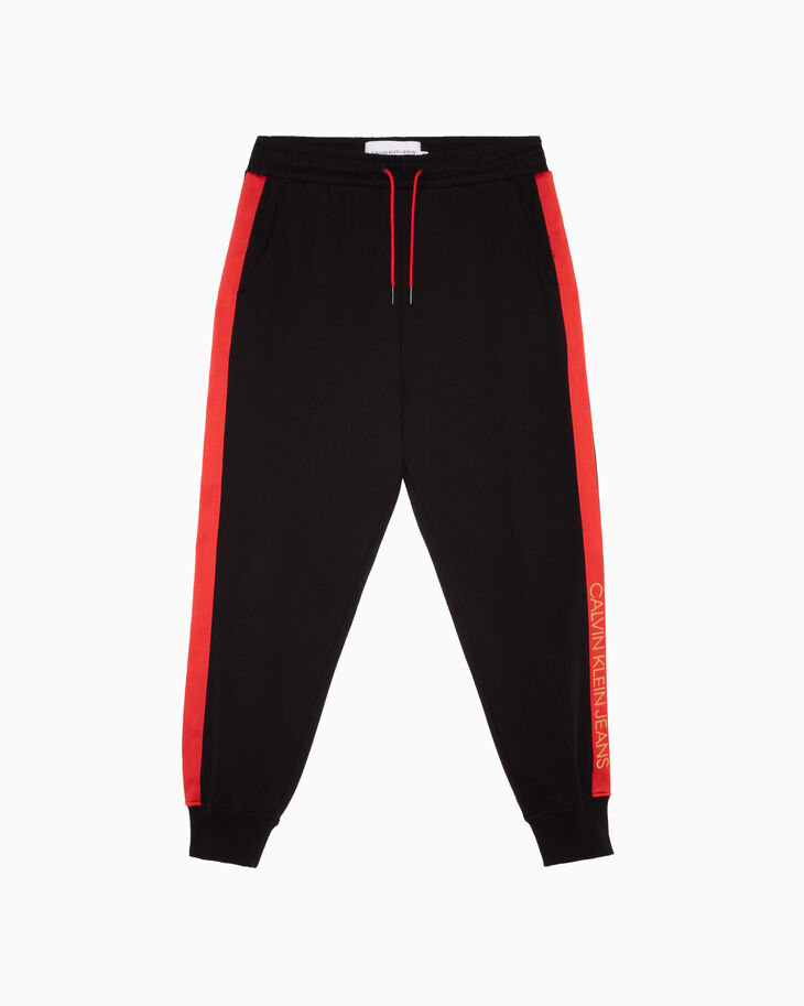CALVIN KLEIN CNY CAPSULE CONTRAST TAPE JOGGERS