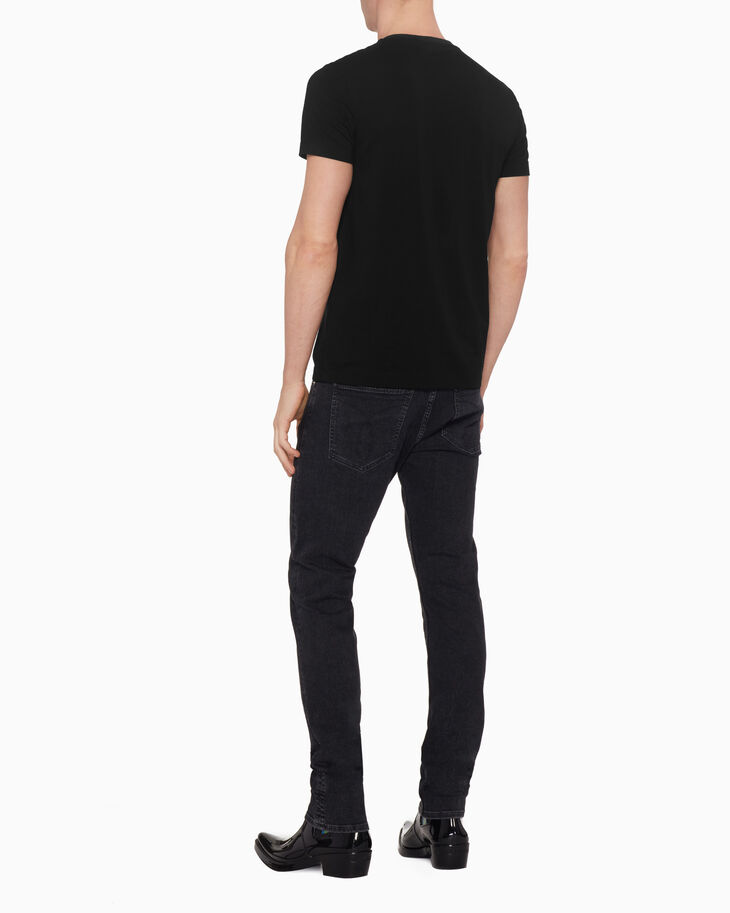 CALVIN KLEIN CONTRAST CHEST POCKET TEE