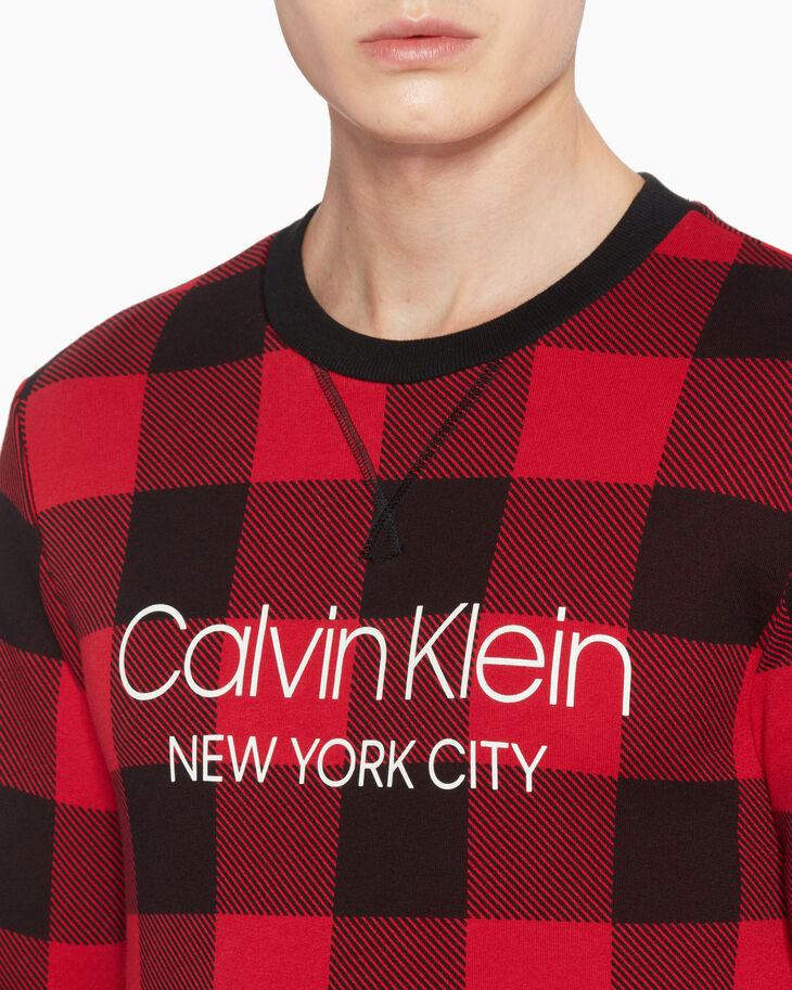 CALVIN KLEIN MODERN COTTON LOUNGE SWEATSHIRT