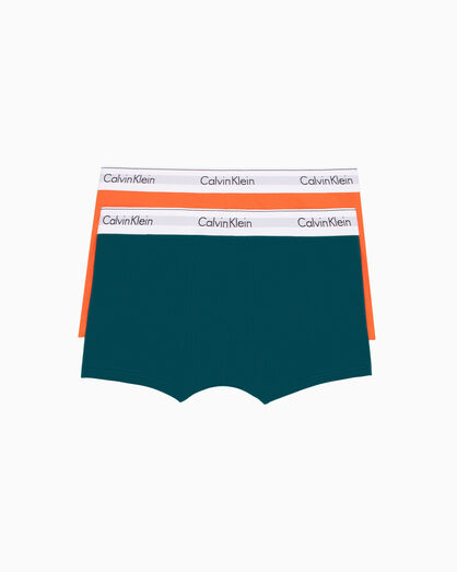 CALVIN KLEIN MODERN COTTON STRETCH 2-PACK TRUNK