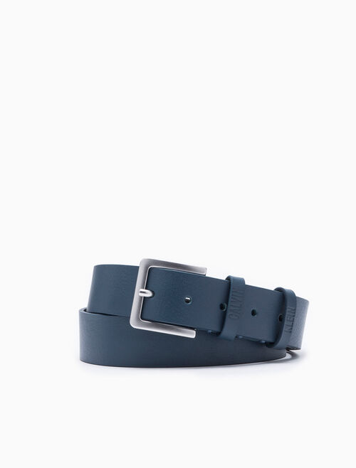 CALVIN KLEIN DOUBLE LOOP LOGO BELT