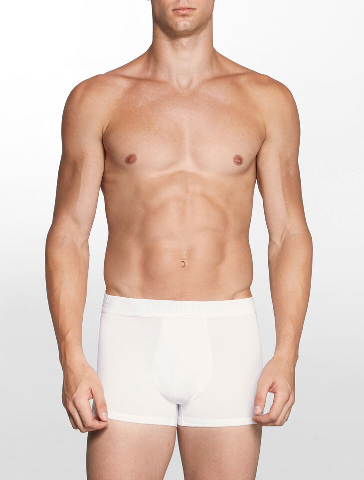 CALVIN KLEIN CK BLACK COTTON TRUNKS