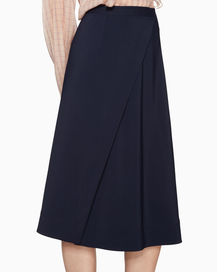 CALVIN KLEIN SIDE SLIT SKIRT
