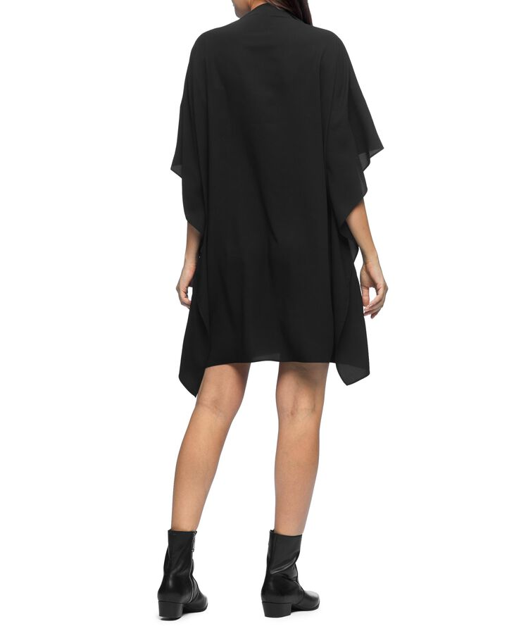 CALVIN KLEIN DOUBLE LAYER DRAPE T-SHIRT DRESS
