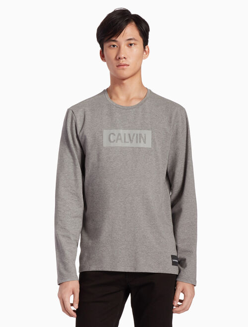 CALVIN KLEIN INSTITUTIONAL LOGO 上衣