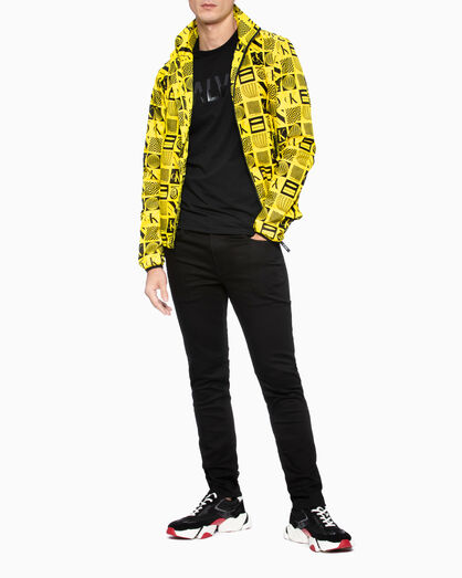 CALVIN KLEIN TWO-TONE LOGO 티셔츠
