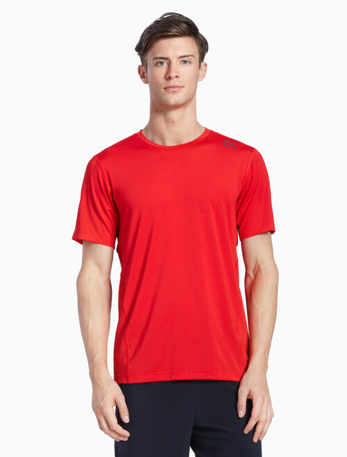 CALVIN KLEIN PERFECT SHORT SLEEVE WORKOUT TEE