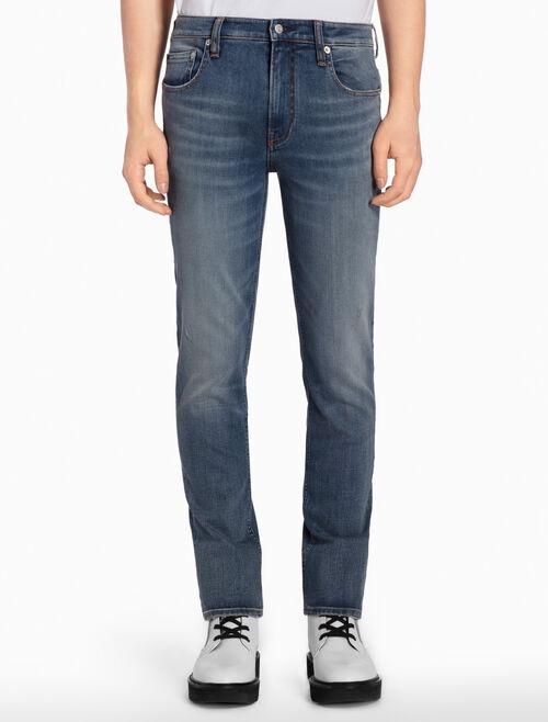CALVIN KLEIN HAGLEY MID BLUE 微彈貼身牛仔褲
