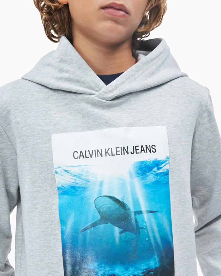 CALVIN KLEIN BOYS' PHOTO PRINT HOODIE
