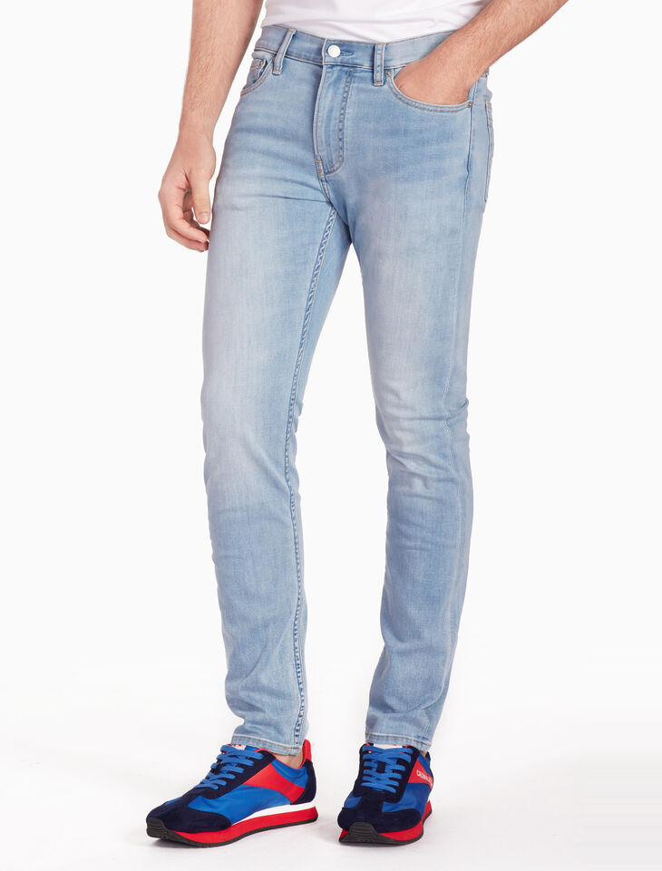 CALVIN KLEIN 37 5 MEN WASHED SLIM JEANS