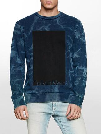 CALVIN KLEIN ブロック ロゴ スウェットシャツ
